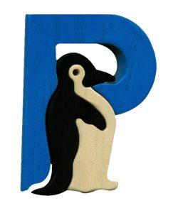 Fauna Litera P - pinguin penguin 14.99 lei producator Fauna-500x600